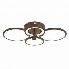 SLE200372-04 Светильник потолочный Кофейный/Белый LED 1*100W 3000-6000K