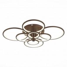 SLE200372-08 Светильник потолочный Кофейный/Белый LED 1*256W 3000-6000K