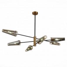 SL1209.302.06 Светильник потолочный ST-Luce Бронза,Черный/Дымчатый E14 6*40W