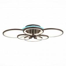 SLE200372-06RGB Светильник потолочный Кофейный/Белый LED 1*168W RGB 8W 3000-6000K