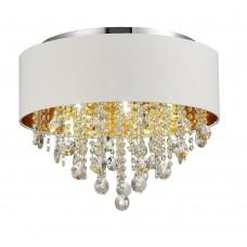 SL1350.502.06 Светильник потолочный ST-Luce Хром/Белый, Золотистый, Прозрачный E14 6*40W