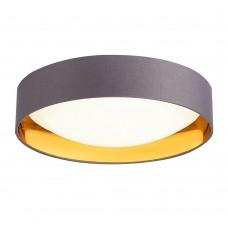 SLE201112-01 Светильник потолочный Серый, Золото/Белый LED 1*24W 4000K