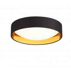 SLE201102-01 Светильник потолочный Черный, Золото/Белый LED 1*24W 4000K