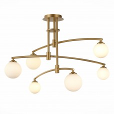 SL1208.302.06 Светильник потолочный ST-Luce Золото/Белый G9 6*3W