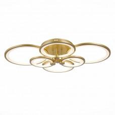 SLE200322-06 Светильник потолочный Золото/Белый LED 1*168W 3000-6000K