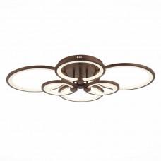 SLE200372-06 Светильник потолочный Кофейный/Белый LED 1*168W 3000-6000K