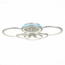 SLE200392-06RGB Светильник потолочный Серебристый/Белый LED 1*168W RGB 8W 3000-6000K