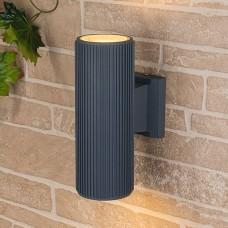Уличный настенный светильник Elektrostandard 1403 TECHNO серый