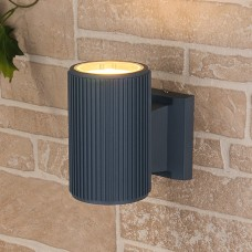 Уличный настенный светильник Elektrostandard 1404 TECHNO серый