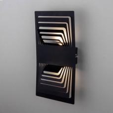 Onda LED чёрный Настенный светодиодный светильник MRL LED 1025