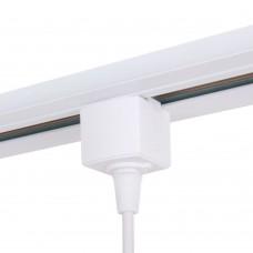 Коннектор для однофазного шинопровода белый TRLM-1-WH