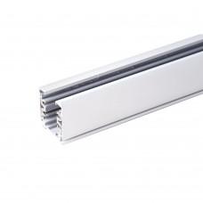 Шинопровод 3-фазный  (с вводом питания и заглушкой) TRL-1-3-100-WH 1 метр белый