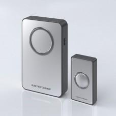 Звонок беспроводной 38M IP20 DBQ27M WL Серебро/Чёрный