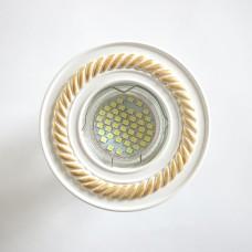 Гипсовый светильник SV 7206 ф100 мм