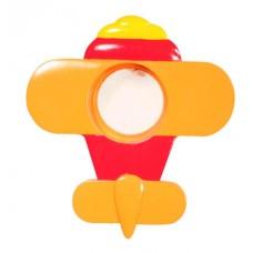 Гипсовый светильник SvDecor SV 7504 красный/оранжевый ф156 мм