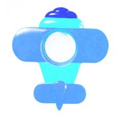Гипсовый светильник SvDecor SV 7507 голубой ф156 мм