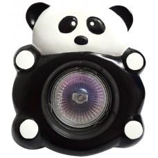 Гипсовый светильник SvDecor SV 7512 белый/черный ф110 мм