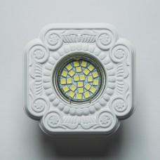Гипсовый светильник SvDecor SV 7139 белый 105*105 мм