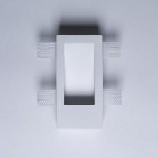 Гипсовый светильник SvDecor SV 7409 белый 185*90 мм под шпаклевку