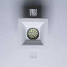 Гипсовый светильник SvDecor SV 7413 белый 120*120 мм под шпаклевку