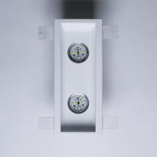 Гипсовый светильник SvDecor SV 7426 белый 270*110 мм под шпаклевку