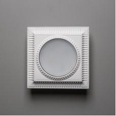 Гипсовый светильник SvDecor SV 7609 белый 130*130 мм GX53
