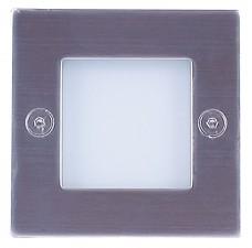 Подсветка для ступеней светодиодная Светкомплект G 03202 Матовый никель (теплый белый)