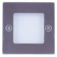 Подсветка светодиодная встраиваемая Светкомплект G 03202 SN 0,8W 3000К 71*71мм IP54