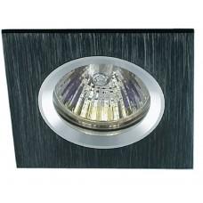 Встраиваемый светильник Светкомплект AS 20 черный