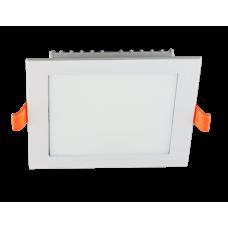 SDAL-S 07 7W WH 3000K Светильник светодиодный встраиваемый 86*86мм; в.о. 75*75мм; 630Лм