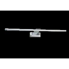 L 405-9W Silver Grey 4500К Подсветка светодиодная накладная 525*30*130мм, 720Лм