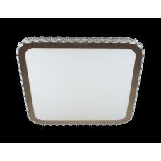 CRY-S 60 RGB TX IR RC Smart-светильник светодиодный накладной с ПДУ 515*515*85мм; 300-4800Лм,Цвет: CHR/WH 2800-6000K, RGB