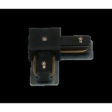 HH-204-90 BK Коннектор однофазный угловой 90