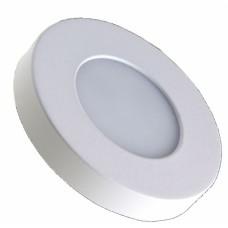 Подсветка светодиодная накладная Светкомплект 1082TR 3W белый 3000K ф60мм 240Lm