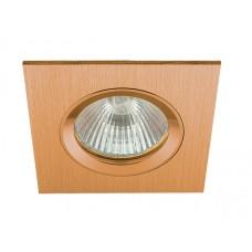 Встраиваемый светильник Светкомплект AS 20 золото