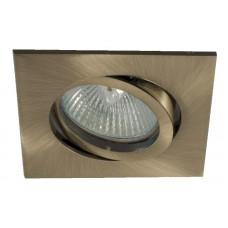 Встраиваемый светильник Светкомплект AT 20 бронза