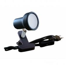 Подсветка светодиодная на прищепке Светкомплект СК-E50/N BK 6W 230V 600Lm 4000K черный H120 L120