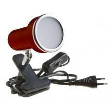 Подсветка светодиодная на прищепке Светкомплект СК-E50/N RD 6W 230V 600Lm 4000K красный H120 L120