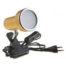 Подсветка светодиодная на прищепке Светкомплект СК-E50/N YL 6W 230V 600Lm 4000K желтый H120 L120