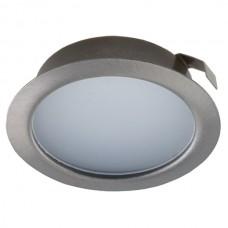 Мебельный светодиодный светильник Светкомплект CK50M-4 220V 4W 330Lm 4000K SN ф72мм