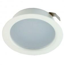 Светильник светодиодный мебельный Светкомплект СК50М-4-4К 4Вт WH 220V Ø72, в.о. 55мм