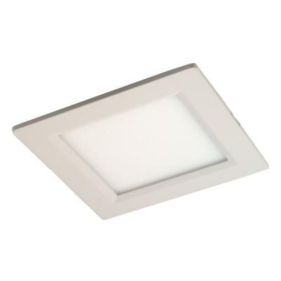 Светильник светодиодный встраиваемый DL 10 PREMIUM 10W WH 6000K 150*150 мм