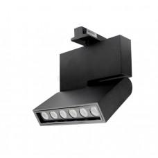 Светильник светодиодный трековый Светкомплект DLM-12S 12W 159*116мм, 1080Lm 4500К черный