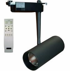 Светильник светодиодный трековый с ПДУ Светкомплект DLP 20T BK 20W 300-1800Lm 3000-6000К черный
