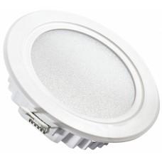 Светильник светодиодный встраиваемый Светкомплект SDL 12R 7W 3000К белый ф118 мм