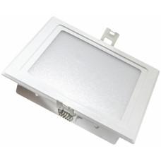 Светильник Светкомплект SDL 22S 20W 3000 К 20W белый 225*225 мм встраиваемый светодиодный