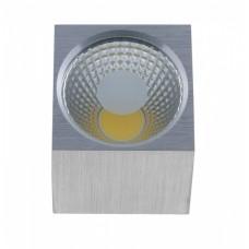 Светильник светодиодный накладной Светкомплект ST-1080 COB SQ 5W AL 4100K 5W 60*60*65мм