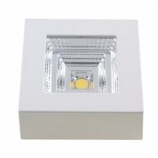 Светильник светодиодный накладной Светкомплект ST-1082 SQ 5W WH 4100K 5W 90*90*38 мм IP44