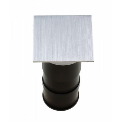 Подсветка светодиодная Светкомплект ST-1106 SQ 3W AL 3000K 3W алюминий 62*62 мм IP44