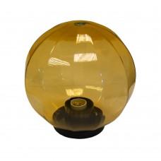 Плафон уличный Шар d200 мм ПММА Золото с гранями